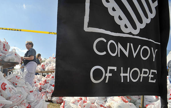 Convoy of Hope begins at 10 a.m. Saturday, Sept. 22, at Hagerstown Fairgrounds, 351 N. Cleveland Ave., Hagerstown.