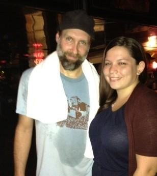Reporter Maria Murriel met Built To Spill's Doug Martsch after his band's performance at the Fort Lauderdale Culture Room.
