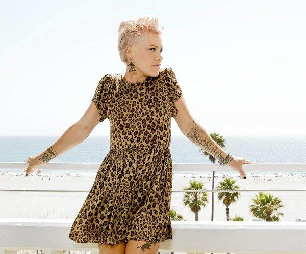 "P!nk has a new album coming out, ""The Truth About Love."""