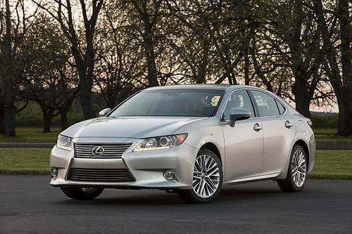 Lexus is in the process of fitting its entire lineup with what the company calls a spindle grille. (Think of a short, angular hourglass.)