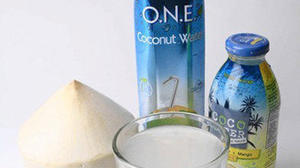 Coconut water making a splash