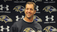 In a near 15-minute news conference Monday, Ravens coach John Harbaugh wasn't asked one question that included the word rematch. The topics of revenge and redemption never came up either.