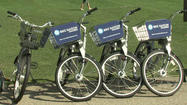 SAN DIEGO -- The city of San Diego will start a bicycle-rental program next spring, starting with kiosks located around downtown and the beach communities, city officials announced Monday.