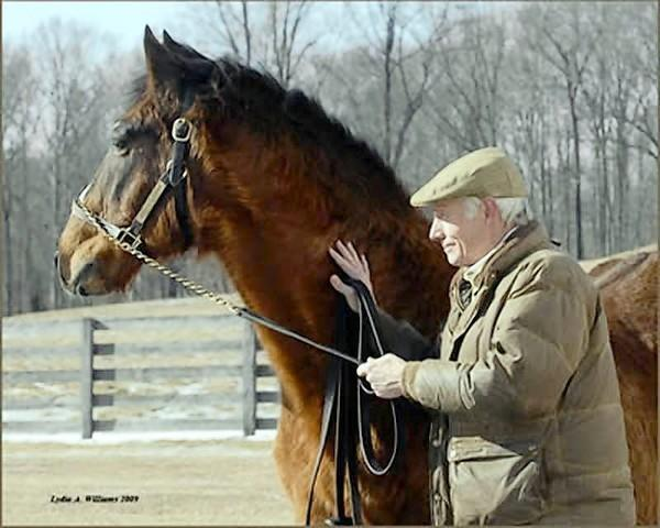 Deputed Testamony, winner of the 1983 Preakness Stakes and the oldest living Triple Crown winner, died Tuesday at Bonita Farm. He was 32. The horse, pictured with his trainer, co-breeder and co-owner J. William Boniface, was a factor in Harford County becoming the center of Maryland's thoroughbred breeding industry.