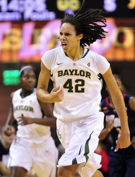 Brittney Griner of Baylor is a favorite to win the Wade Trophy again.