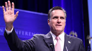 "A clip of Mitt Romney speaking at a private fund-raiser in May shows the GOP presidential candidate questioning the prospect of ever reaching peace between Israelis and Palestinians, calling a path to a solution in the region ""almost unthinkable to accomplish."""