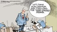 Dana Summers Cartoon: Local Topics: Elections: Alan Grayson, Todd Long