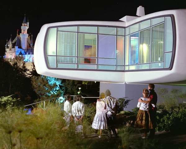 Monsanto House of the Future (1957-1967) at Disneyland: This ride, also sponsored by Monsanto, gave guests a tour of an expected house of the future, including advancements such as fiberglass components and, gasp, microwave ovens.