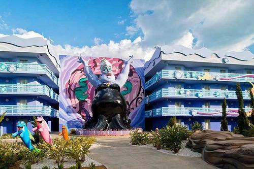 The final of four wings at Disney's Art of Animation resort, based on The Little Mermaid, opened on Sept. 15, 2012.