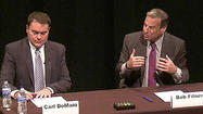 SAN DIEGO -- San Diego's two mayoral candidates squared off once again Monday evening, this time on the issue of business.