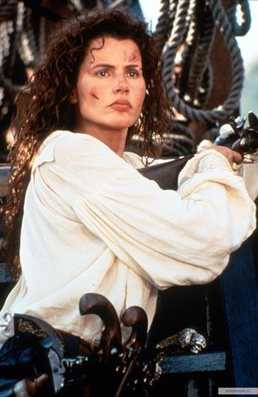 "<b>You (probably don't) know her from</b>: ""Cutthroat Island""<br> <b>Pirate type:</b> Box-office bomb<br> <b>Talk like this pirate if:</b> You like obscurity.<br> <b>Key quotes:</b> ""I brim with charity. I am charity's very soul. And because I am so charitable, I will maroon you on a rock the size of this table, instead of splattering your brains across my bulkhead... as you deserve.""<br> ""By the way, that won't work. See, I took your balls.""<br> ""Hey, where are you going! We spent a lot of money on this movie, the least you could do is watch it!"" <br> ""Fire my agent!"""