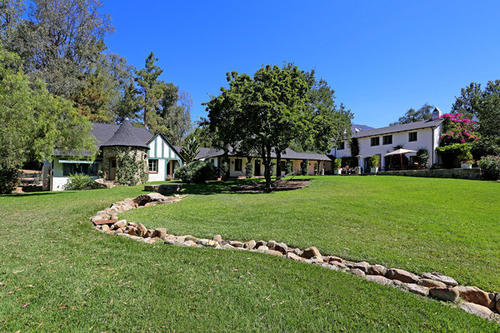 Oscar-winner Reese Witherspoon's Libbey Ranch includes a main house, three guest cottages and a carriage house.