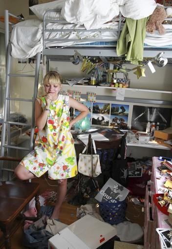 Tavi Gevinson, 16, at her home in Oak Park