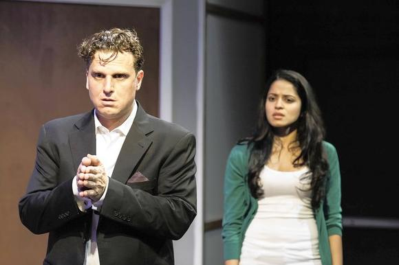 "Paul D'Addario and Mouzam Makkar star in Andrew Hinderaker's ""Dirty."""