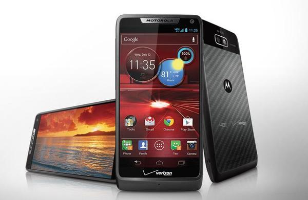 The Motorola Razr M sports a 4.3-inch screen, but isn't as bulky as these other Androids. It runs Android 4.0 Ice Cream Sandwich, and can connect to 4G LTE. It's available from Verizon for $99 on a two-year contract. The downside? It only offers 8 GB of storage.