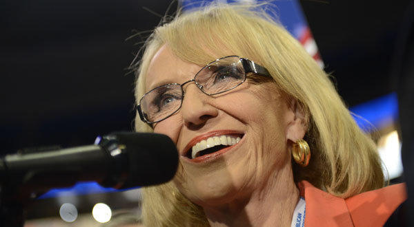 Arizona Gov. Jan Brewer took the case to the Supreme Court after a federal appeals court struc
