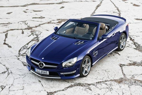 Mercedes-Benz SL65 AMG convertible
