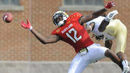 After catching 45 passes last season, senior <strong>Kevin Dorsey</strong> entered this year as Maryland's No. 1 receiver. Through three games, Dorsey has three catches for 26 yards.