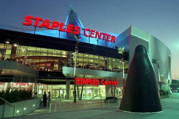The company that owns the Staples Center is being put up for sale