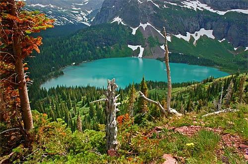 Travel to Glacier National Park in Montana