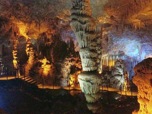 """A new lighting system is helping to preserve Israel's Soreq Cave. """"We're not popping the champagne, but we are not expecting to see any more algae,"""" said Tomer Saragusti, manager of the national Soreq Cave Nature Reserve."""