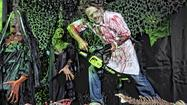 The plethora of chainsaw-toting creeps covered in blood demonstrates why Fright Dome is open only to those 12 and older.
