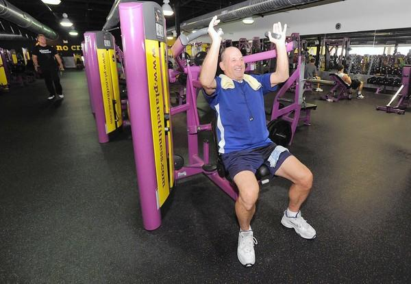 Jerry Allbright, 71, of Kempton at Planet Fitness located at 4646 Broadway in Allentown on Tuesday afternoon. The latest study from Trust For America's Health and the Robert Wood Johnson Foundation ranks Pennsylvania as the 20th fattest state.