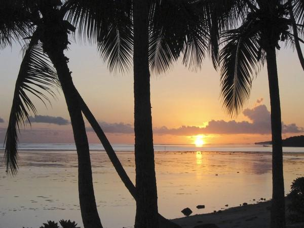 A beach on the Coral Coast of Viti Levu island. Fiji sunsets are as good as they get. Long a vacation site for New Zealanders and Australians, Fiji is gaining popularity with American travelers for good reasons. The archipelago offers beauty, ease and a tourist infrastructure that can deliver bare-bones to high-style getaways at bargain prices.