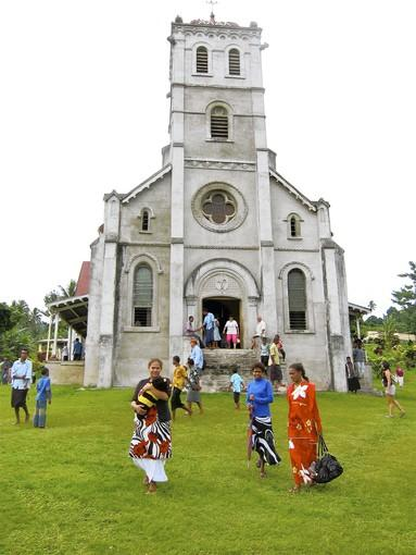 Tourists are welcome to join locals for Sunday services at the Wairiki Mission church on Taveuni island. Long a vacation site for New Zealanders and Australians, Fiji is gaining popularity with American travelers for good reasons. The archipelago offers beauty, ease and a tourist infrastructure that can deliver bare-bones to high-style getaways at bargain prices.