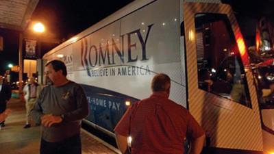 The Romney Bus visits Towanda