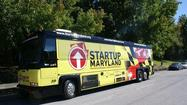 Startup Bus tours Maryland, stops in Baltimore area to promote entrepreneurship