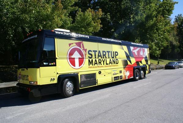 The Startup Bus is touring Maryland in September to promote entrepreneurship and new business formation.
