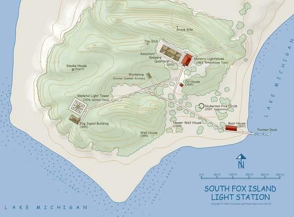South Fox Island Light Station