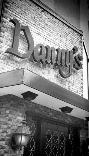 The iconic Danny's sign