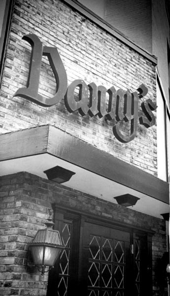 The Danny's sign, at the northeast corner of Charles and Biddle streets, was a familiar sight for northbound motorists