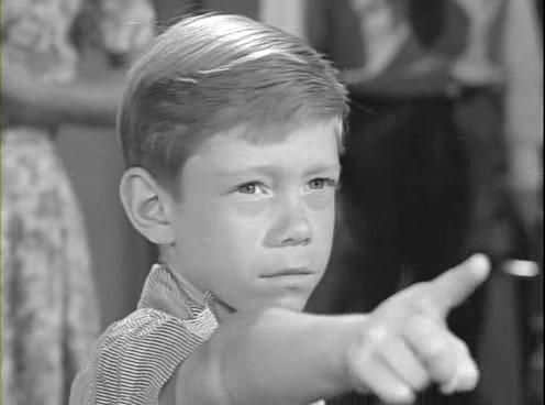 "Who knew little Billy Mumy could be so scary? He plays all-powerful Anthony, who holds a town hostage to his every whim, in this 1961 episode of ""The Twilight Zone"" titled ""It's A Good Life."""
