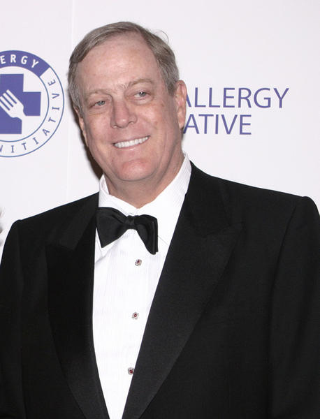 David Koch at the 'Food Allergy Ball 2003' held on December 2, 2003 at the Plaza Hotel in New York City.