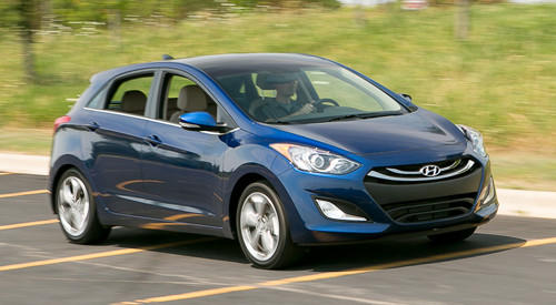 While the Elantra sedan and coupe have similar interior appointments and styling, the GT's enhanced style and pleasant materials give the hatchback a more premium feel than its counterparts. The GT is tuned for sportier driving, with a stiffer suspension than the comfort-oriented sedan.