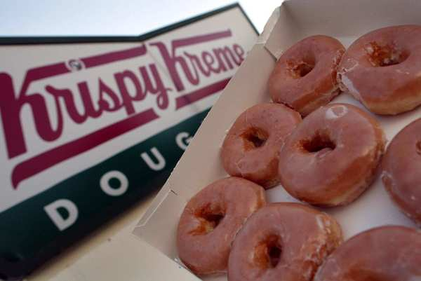 Krispy Kreme is offering customers who drop some pirate lingo a free doughnut today. For a free dozen, show up in full pirate costume.