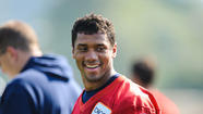 Using the Emerald City as a backdrop, Seahawks QB Russell Wilson stars in a new Levi's ad and he touches on his relationship with his father, battling criticism that he's too small to be a quarterback and more.