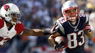 When the New England Patriots offense first took the field against the Arizona Cardinals on Sunday, they did so without their leading receiver from their previous five seasons. But Wes Welker wasn't injured. He stood on the sideline as Julian Edelman took his place as the team's starting wide receiver opposite Brandon Lloyd.