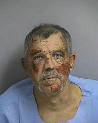 "Allegedly hit deputy with his car while fleeing DUI checkpoint. Charges: Attempted murder on a law enforcement officer, aggravated assault on a law enforcement officer, aggravated battery on a law enforcement officer and fleeing and eluding.   <br /> <br /> <a href=""http://www.sun-sentinel.com/news/strange/floriduh-blog/sfl-checkpoint-20120916,0,3034369.story"">Read More</a>"