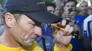 Despite his lifetime ban by the U.S. Anti-Doping Agency, organizers of a Howard County race are welcoming Lance Armstrong to town with open arms.