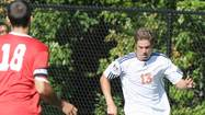Petoskey High School graduate Jason Muller scored four goals and picked up one assist in leading the Hope College mens soccer team to the championship of the Flying Dutchmen's Bergsma Tournament.