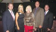 <b>Cindy McCain</b>, wife of Sen. and former Republican presidential candidate <b>John McCain </b>(R-Ariz.), came into Newport Beach on Friday evening for a special dinner at the Ritz Restaurant in Fashion Island.