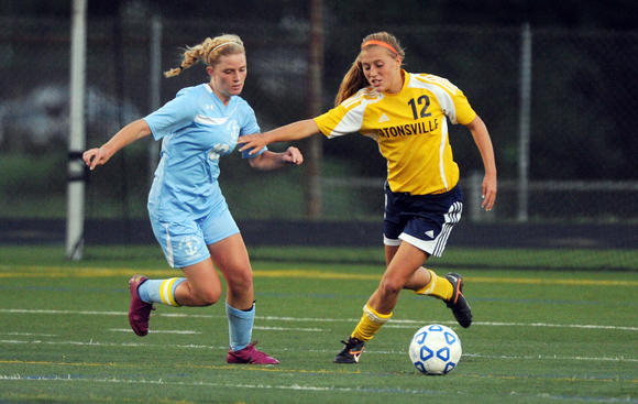 Catonsville vs. Mount de Sales girls soccer