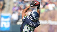Seattle Seahawks wide receiver Golden Tate was fined $21,000 for a hit he put on Dallas Cowboys linebacker Sean Lee Sunday.