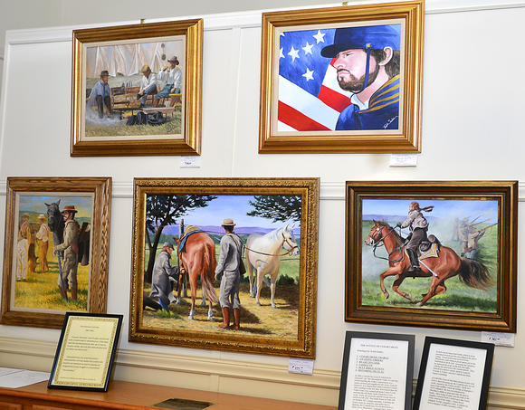 Civil War art exhibit