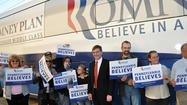 Local Republican voters and party leaders welcomed the Romney-Ryan campaign bus to Somerset Wednesday. Although the bus wasn't carrying the presidential hopeful, Mitt Romney, it delivered a message that hits close to home for many residents in America's County: save the coal industry.