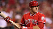 No fish jokes about this kid. Mike Trout is a keeper.